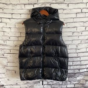 Duvetica Aristeo Down Vest Hooded Full Zip SZ 50